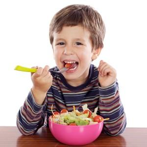 child-boy-eating-salad